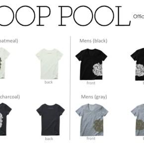 LOOP POOL Official T-shirts発売開始!!