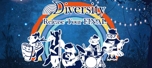 "01.26 (土) 4th album ""Diversity"" release tour Final"