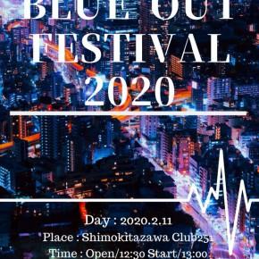 02.11 (火・祝) BLUE OUT FESTIVAL 2020